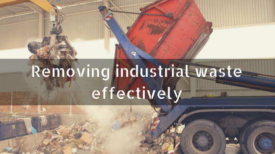Removing industrial waste effectively