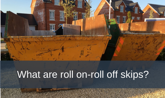 What are roll on-roll off skips